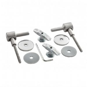 Ideal Standard 'White' Range Seat Hinges (New Style)